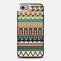 Desert Aztec Pattern iPhone 6 Metaluxe case by Organic Saturation | Casetify Get $10 off using code: 53ZPEA