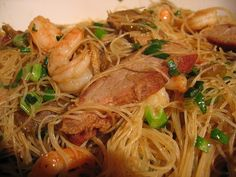 Rice noodles recipes - http://sundaynitedinner.com/singapore-rice-noodles/