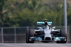 Mercedes top the timesheets in #FP1 & #FP3  #MalaysianGP #F1 #Formula1
