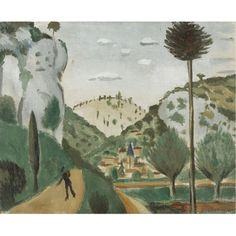 Andre Derain: La route de vers (1912) Matisse, André Derain, French Artists, Impression, Picasso, Landscapes, Paintings, School, Inspiration