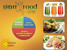 Projeto Verão Light Food Way  Emagreça até 5 Kg com saúde e refeições balanceadas em apenas um mês.  Conheça nosso novo pacote de Dieta... Na 1º semana Detox  2º Low Carb  3º e 4º Hipocalórico com acompanhamento nutricional.  Ligue  (17) 3022-2177  3222 5632 ou Whatsapp 98223 8003  para outras informações e agende um horário com nossa nutri @magattaz.  #lightfoodway #projetoverão  #dieta #detox #lowcarb #hipocalórica #alimentaçãobalanceada #saúde #kit #sucos  #vidasaudável #refeições #dietas…