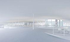 Rolex Learning Center / EPFL   Lausanne, Switzerland   SANAA   photo by Iwan Baan