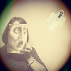 This #bookface is haunted!