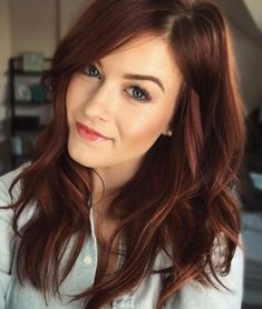 ideas hair color dark red brown hairstyles ideas hair color dark red brown hairstylesYou can find Red brown hair and more on our Dark Auburn Hair Color, Red Hair Color, Hair Color Balayage, Cool Hair Color, Hair Highlights, Color Highlights, Color Red, Auburn Highlights, Auburn Balayage