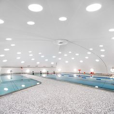 Urbane Kultur have refurbished and extended this dome-shaped swimming pool just outside Strasbourg, which is one of nearly 200 built in France in the 1970s