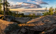 Koli National Park IV - Panorama shot, I took this one in june just before sunset.