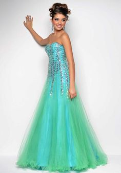 Blush 9543 at Prom Dress Shop