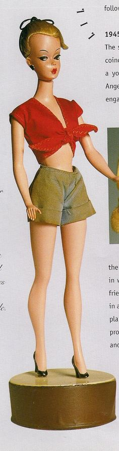bild lilly -  barbie is based on this doll, 1955 Germany - character from a comic strip in 1952