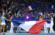 Mladenovic stars as France beat Belgium in decisive doubles   Kristina Mladenovic led France through to their third Fed Cup by BNP Paribas semifinal in four years after winning three live rubbers