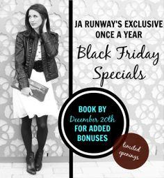 JA Runway Personal Stylist | Christmas Specials