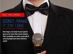 Adelaide Wedding Speeches: Five Tips for a Great Best Man Speech—No.5: Don't Make it Too Long! www.weddingspeechesadelaide.com.au