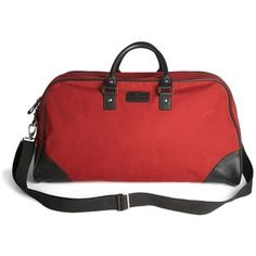 Simon Carter Bags - Red St. Leonard's Weekend Holdall by Simon Carter