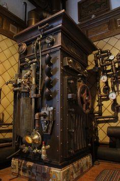 Steampunk Tendencies | Soviet Steampunk Boiler