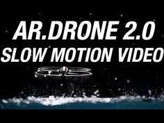 AR.Drone 2.0 Slow Motion Video with Phantom Flex Camera