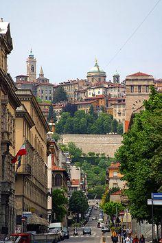 Bergamo Alta e Bergamo, Lombardia