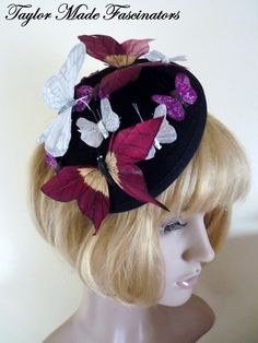 Butterfly Ball fascinator