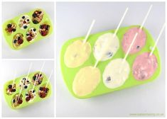 How to make Easter egg breakfast pops for kids - fun and healthy Easter treat idea