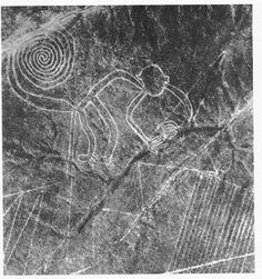 Nazca Peru Visible only from the sky.