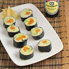 Curry Roasted Sweet Potato Sushi -replace rice for broiled egg n add celery