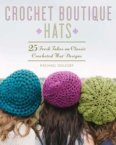 Lark Crafts announced Crochet Boutique Hats coming out in the fall
