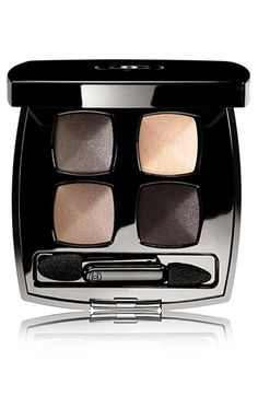 Chanel Les 4 Ombres Quadra Eyeshadow in Demure - One of my all time favorite Chanel Eyeshadow, Chanel Makeup, Chanel Chanel, Shimmer Eyeshadow, Eye Makeup, Makeup Tips, Hair Makeup, Alien Makeup, Devil Makeup