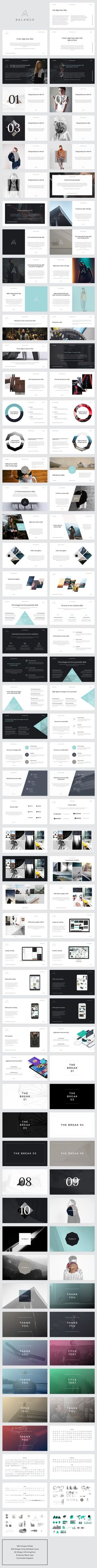 BALANCE | Keynote Presentation by GoaShape on Creative Market