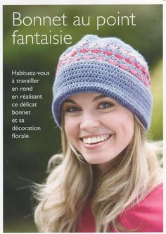 Bonnet au Point Fantaisie **