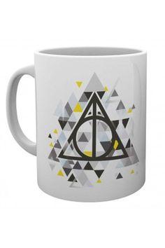 Harry Potter Deathly Pixels Mug