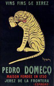 Pedro Domeco Vintage by Leonetto Cappiello Fine Art Print Vintage Advertising Posters, Vintage Advertisements, Vintage Ads, Vintage Posters, Vintage Wine, Vintage Ephemera, Unique Vintage, Wein Poster, Tiger Poster