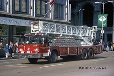 """Chicago's fire department, made famous by the television series """"Chicago Fire"""". Chicago Fire Department, Fire Dept, Jeep Shop, Fire Prevention Week, Real Superheroes, Rescue Vehicles, Chicago Photos, Fire Apparatus, Emergency Vehicles"""