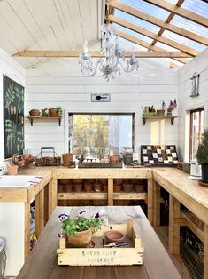 Fun She Shed Conversion Ideas Simple Garden Shed Office Projects .e office and also have the 'shed Shed Plans, House Plans, Shed Conversion Ideas, Garden Shed Interiors, Garden Sheds, Shed Office, Shed Makeover, Makeover Tips, Greenhouse Shed