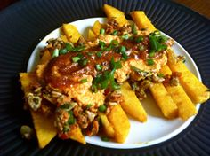 Raw Chili Cheese Fries.  Gotta make this right here!!