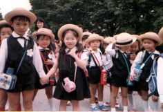 Japanese children - uniforms. So cute!