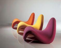 Design Anthropomorphique Pierre Paulin Tongue Chair 1967 Mobilier Futuriste Mobilier Genial Decoration Minimaliste