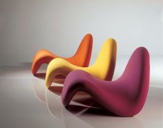 design anthropomorphique, Pierre Paulin, Tongue Chair, 1967
