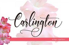 Carlington from FontBundles.net