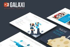 Galaxi Powerpoint Template by inspirasign on Envato Elements Powerpoint Maker, Cool Powerpoint, Powerpoint Themes, Powerpoint Template Free, Keynote Template, Presentation Design Template, Powerpoint Presentation Templates, Design Templates, Communication