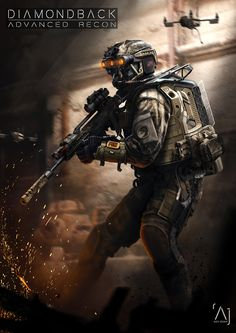 Concept done at Sledgehammer Games for Call of Duty: Advanced Warfare