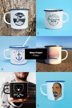 Mess Project Picks \ Enamel Mugs #enamel