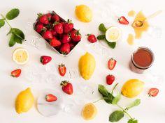 limonada de fresa casera ingredientes