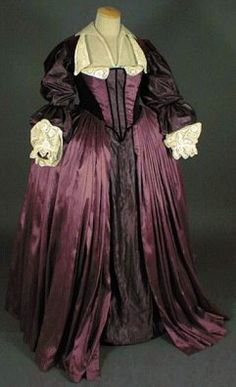 The female dress 1610-1660
