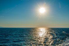 Check out Caribean sun by ChristianThür Photography on Creative Market Sun Holidays, Holiday Photos, Celestial, Vacation, Marketing, Sunset, Beach, Creative, Water