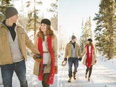 Winter engagement fashion ideas