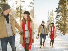 Winter engagement fashion ideas