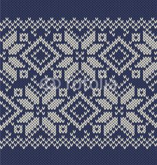 Vector  knitted background