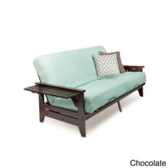 Night And Day Furniture Coral Full-size Futon Frame with 7-inch Mattress