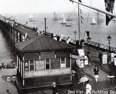 David Skardon Deal Kent Pictures of old Deal and Deal Beach Skardons World Scaffold Poles, Brewer Street, Sea Girt, Coast Guard Stations, Tackle Shop, Oak Street, Old Mansions, Boat Building, Old Pictures