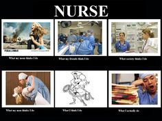 What people thinks Nurse do.