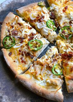 Jalapeno Popper Pizza. Um, yes. Absolutely.