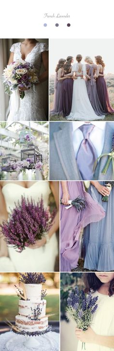 Wedding Inspiration for French Lavender